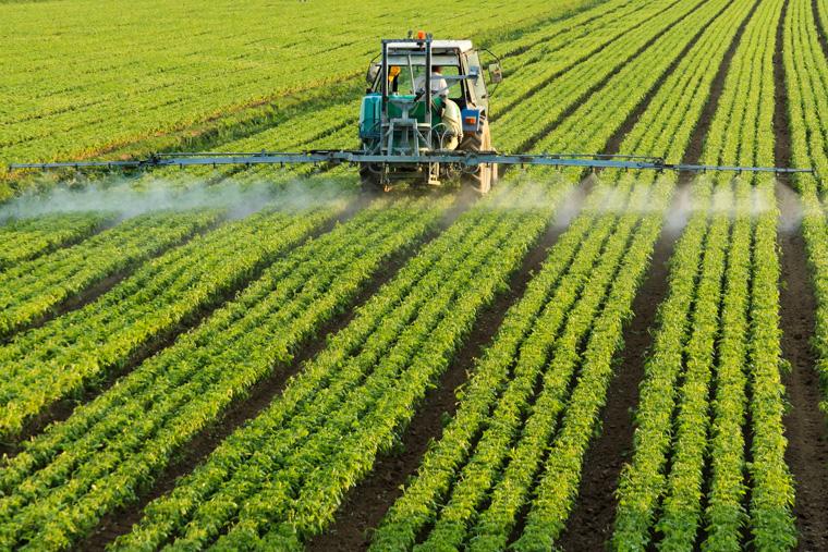 Ackerschlepper endokrine Pestizide