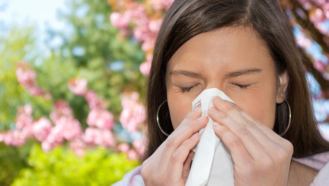 Schnupfen ade: Pollenflug gut überstehen