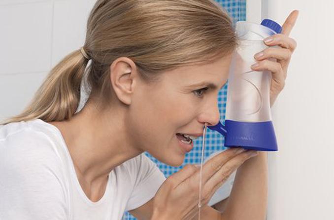 Nasenspülung: Pollenflug wird für Allergiker erträglicher