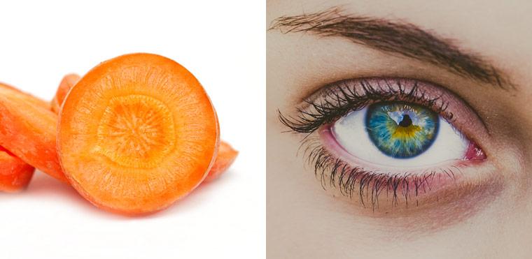 Karotte ? Augen