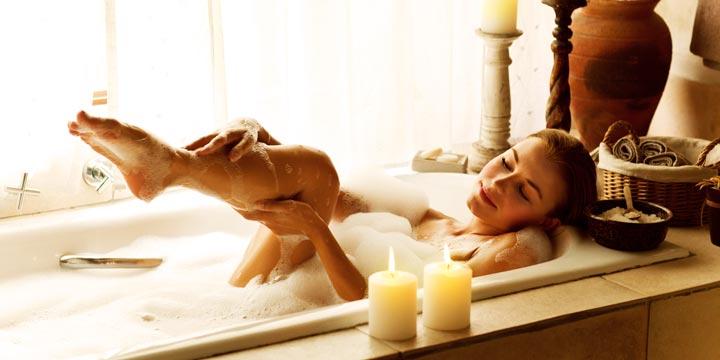 Baden: Entspannungsritual für Körper, Geist und Seele