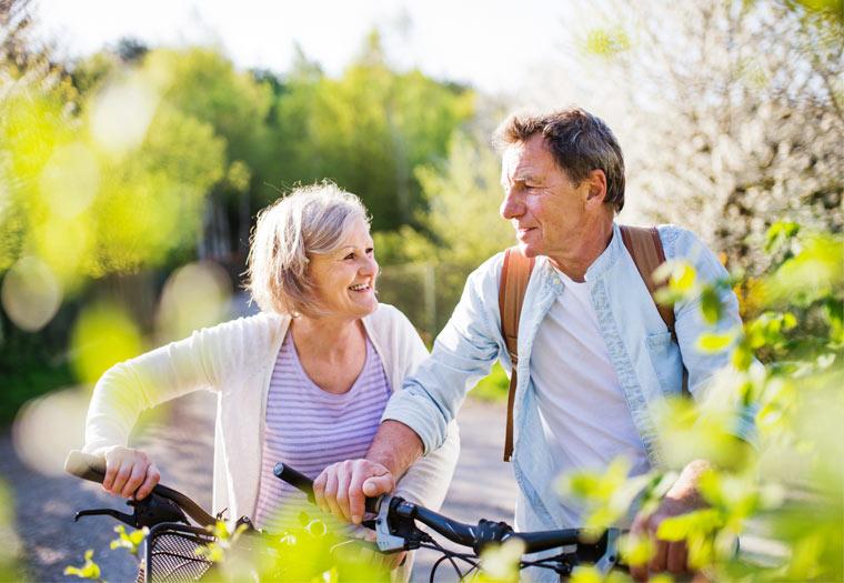 Regelmäßiger Sport fördert die Gesundheit