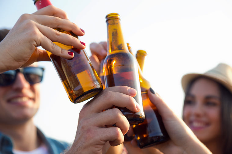 Bier weckt Glücksgefühle