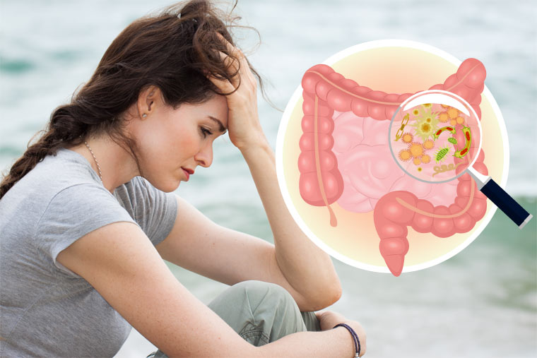 Gesunde Darmflora lindert Depressionen