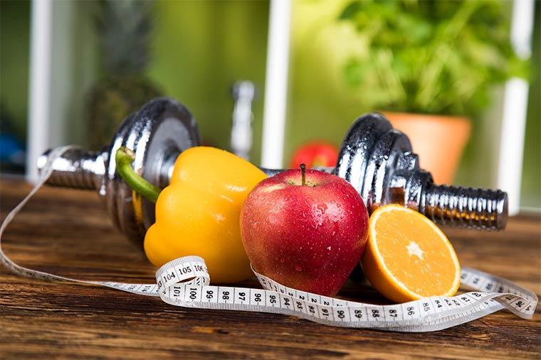 Diät oder Muskelaufbau