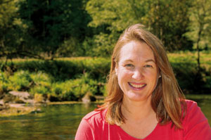 In ihrem Zentrum im Bayerischen Wald hilft Susanne Kirstein Fastenanfängern beim Durchhalten © Fastenzentrum Kirstein