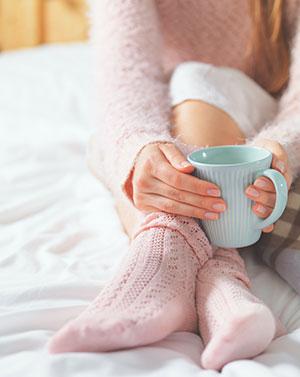 Rituale helfen beim Einschlafen