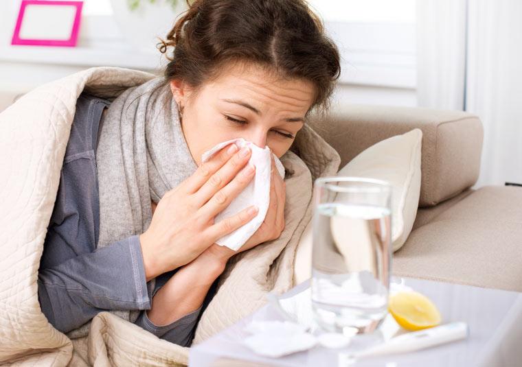 Meningitis Symptome leicht mit Grippe zu verwechseln