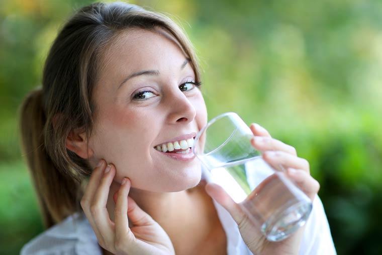 Abnehmen mit Wasser