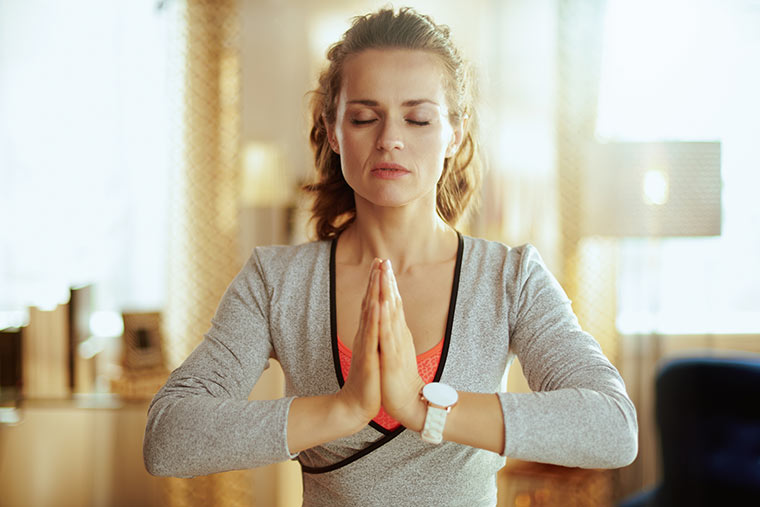 Stress reduzieren durch Meditation
