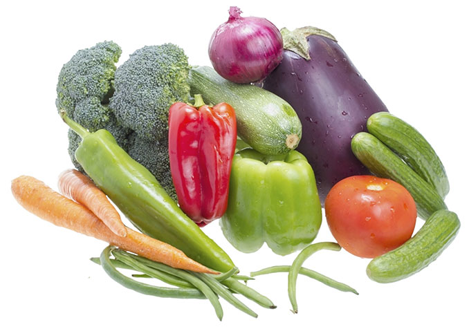 Gemuese und basische Ernährung beugt Durchfall vor