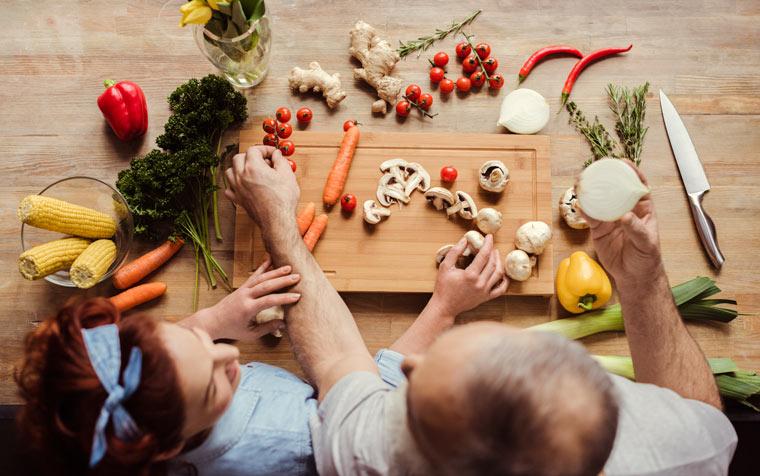 Heuschnupfen: Gesunde Ernährung durch viel Gemüse