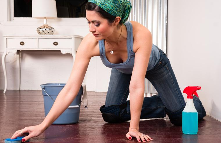 So schlagen abnehm- und putzfreudige Damen und Herren gleich zwei Fliegen mit einer Klappe: die Wohnung ist sauber und der Körper in Bewegung!