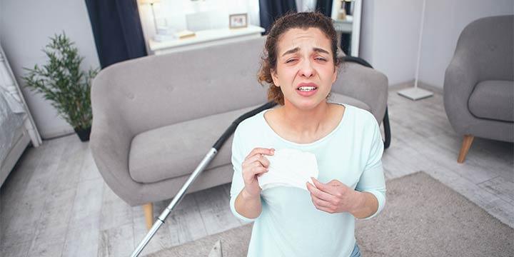 Hausstauballergie: Allergisch gegen unsichtbare Mitbewohner