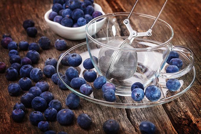 Heidelbeertee hilft gegen akuten Durchfall