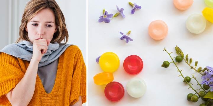 Erkältung: Rezept für selbstgemachte Bonbons gegen Husten, Halsschmerzen und Heiserkeit