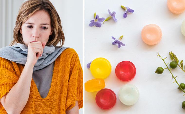 Bonbons gegen Husten und Halsschmerzen