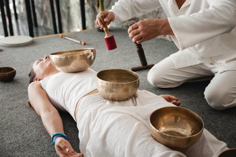 Klangschalen - Therapien mit dem Gong!