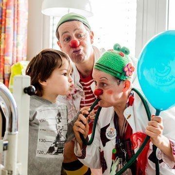 Clowns als Vorbilder – denn Lachen macht gesund!