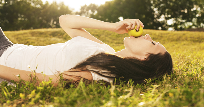 Entspannung Alltag eco woman