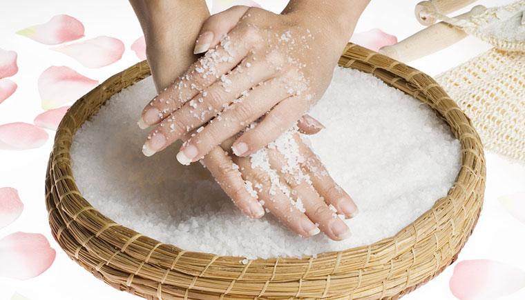 Meersalz versorgt die Haut mit wichtigen Mineralien