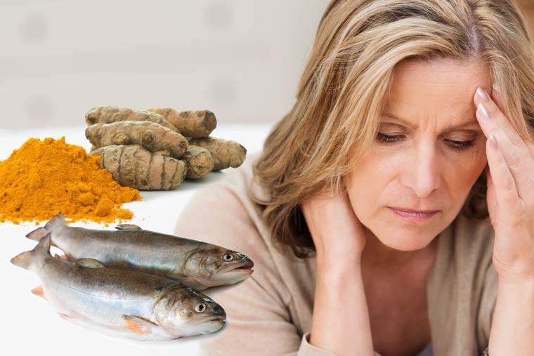 Das hilft gegen Migräne. Studie bestätigt natürliche Heilkraft von Kurkuma und Fischöl.