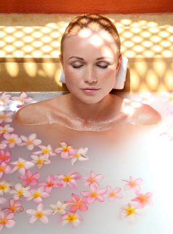 Kräuter baden Naturbäder