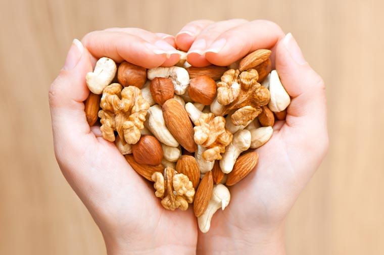 Nüsse schützen vor Herzinfarkt