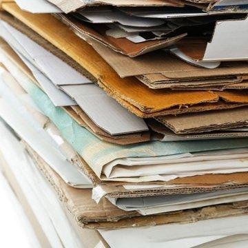 Recyclingpappe ist kontaminiert