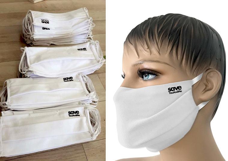 Save YouAndMe Stoffmasken