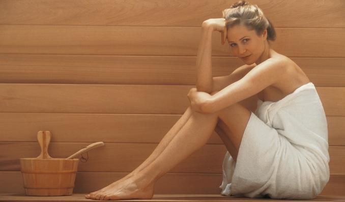 Sauna baden