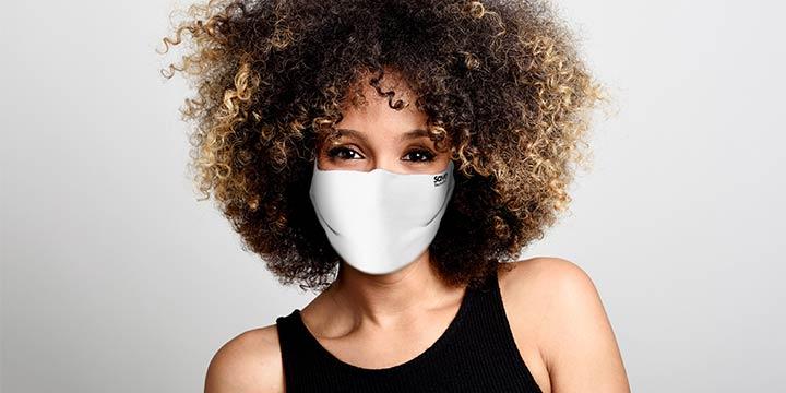 Designer-Stoffmasken mit Filterfunktion für den Alltag