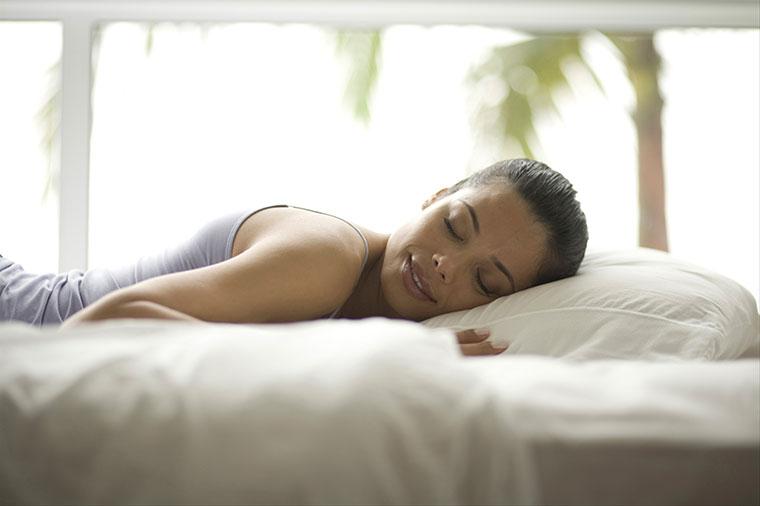Mit kleinen Tricks koennen Sie gut schlafen
