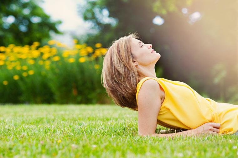 genügend Sonnenstrahlen und Vitamin D tanken