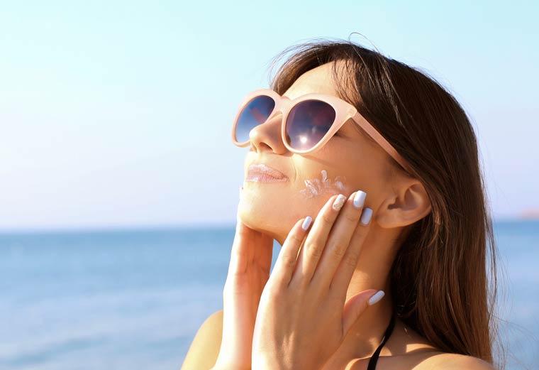 Sonnenschutz fürs Gesicht