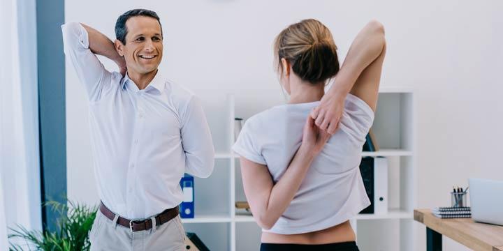 Gesund am Arbeitsplatz durch Fördermaßnahmen des Arbeitgebers