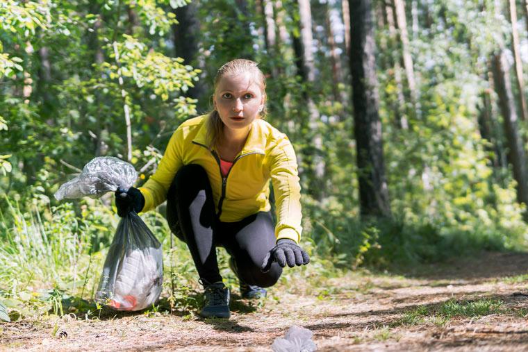 Plogging macht das Laufen zu einem intensiven Ganzkörper-Workout
