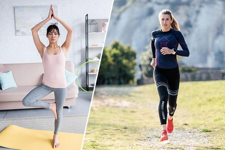 Yoga und Trailrunning