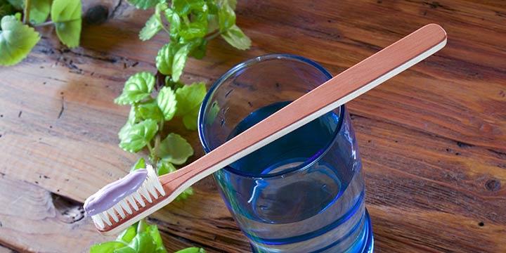 Ökologische Zahnpasta ohne Mikroplastik, Triclosan und Aluminium
