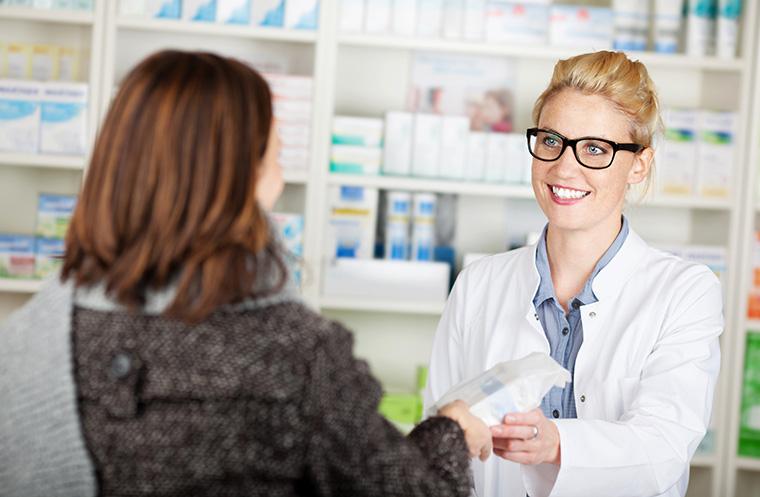 Lassen Sie sich lieber in einer Apotheke oder Arztpraxis beraten