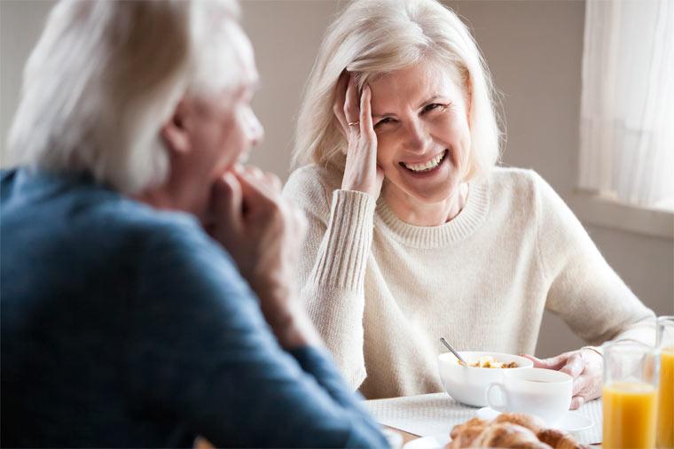 Gerade im Alter spielt die Gesundheit eine große Rolle