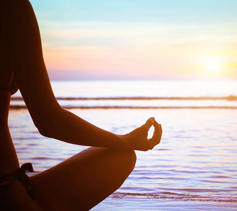 Chakren Meditation lässt die Energie fließen