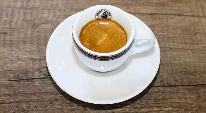 Ein Espresso belebt, ist aber nicht für Schwangere geeignet © Murnauer Kaffeerösterei