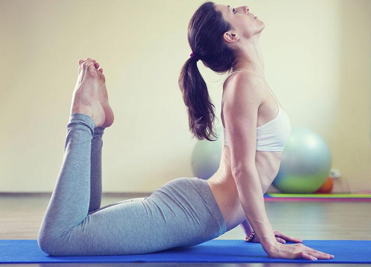 Yoga ist gesund für Körper und Geist