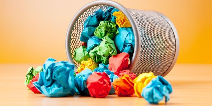 Genial: Recyclebare Abfalleimer lösen Müllproblem