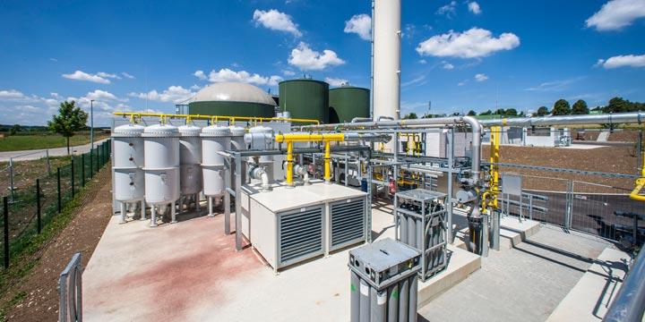 Biogas für ganzheitliche Energieversorgung