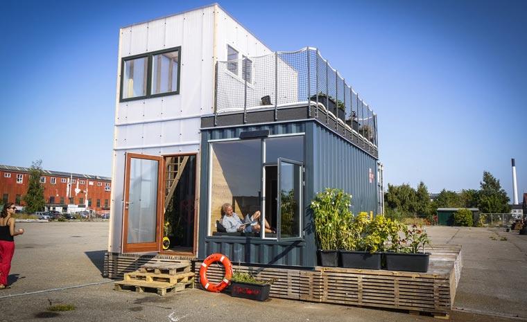 containerhaus nachhaltig wohnen ohne auf komfort verzichten zu muessen. Black Bedroom Furniture Sets. Home Design Ideas