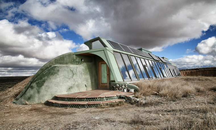 Das earthship in Berlin Tempelhof