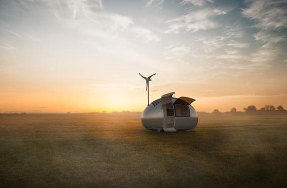 Ecocapsule:Wohnen im außergewöhnlichen Öko-Designei
