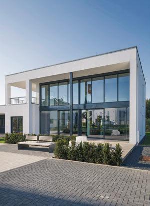 energieeffizientes Traumhaus von LUXHAUS